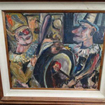 Prodej starožitných obrazů - obraz-kapela
