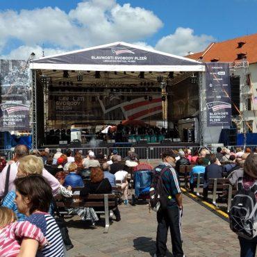 Slavnosti svobody Plzeň - oslavy osvobození 03