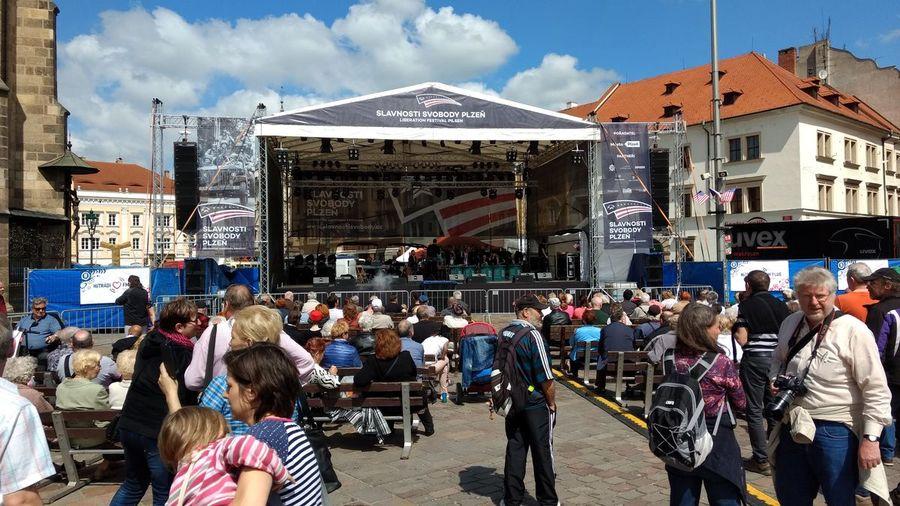 Slavnosti svobody Plzeň - oslavy osvobození v Rokycanech