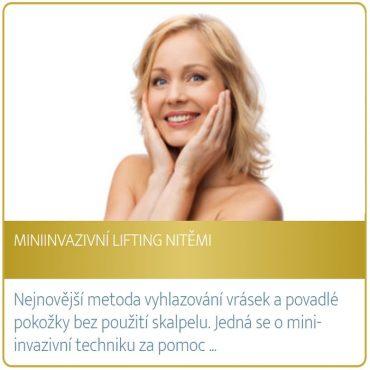 Miniinvazivní lifting nitěmi