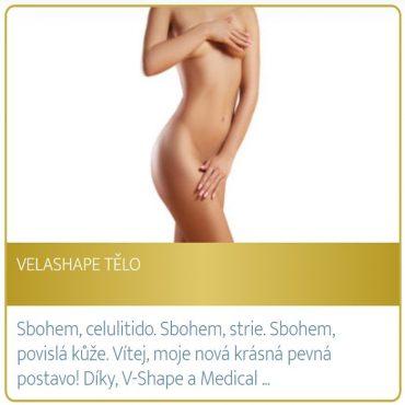 Velashape tělo