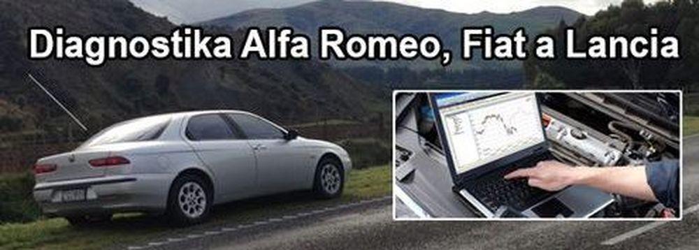 Diagnostika automobilů v autoservisu Alfa Romeo Fiat Lancia