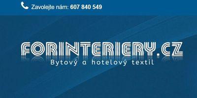 Forinteriéry.cz - prodej bytového a hotelového textilu