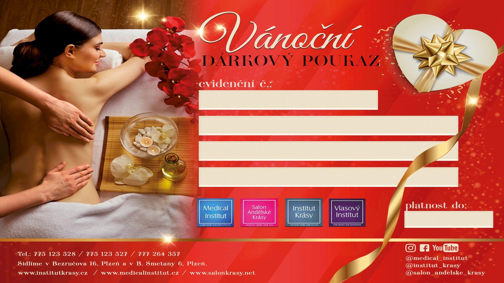 Prodej vánočních dárkových poukazů Plzeň
