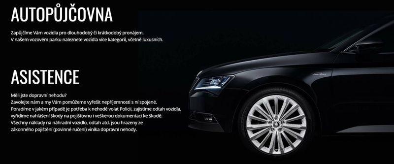 AUTOPŮJČOVNA Strakonice - půjčovna osobních automobilů Diviš