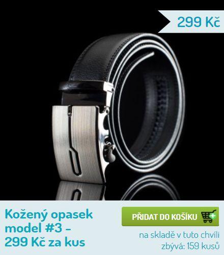 e6b8b60f0c Prodej pánských opasků - Take It Shop - Marketing-Info Plzeň