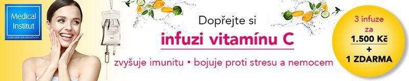 Infuze vitaminu c v Plzni