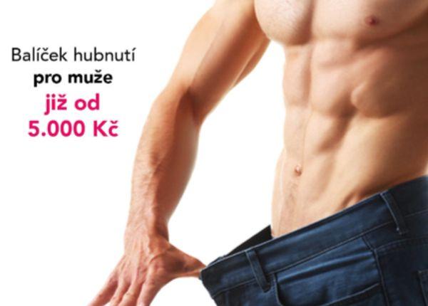Nyní nabízíme i výhodný balíček hubnutí pro muže včetně konzultace s terapeutkou ZDARMA