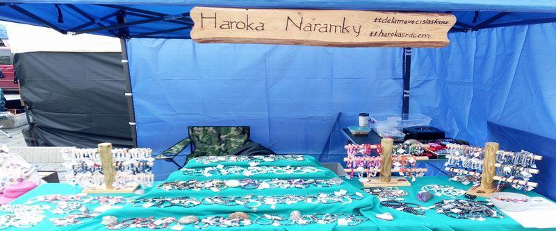 Prodej náramků z minerálních kamenů - HAROKA - ruční výroba originálních náramků