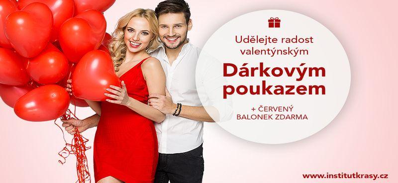 Dárkové Valentýnké poukazy od Medical Institutu Plzeň