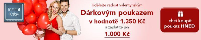 Valentýnské dárkové poukazy od Medical Institutu Plzeň