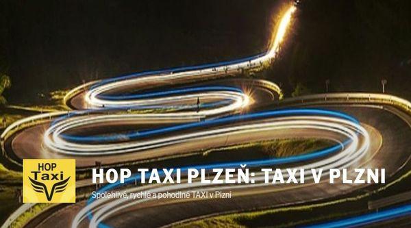 HOP TAXI v Plzni