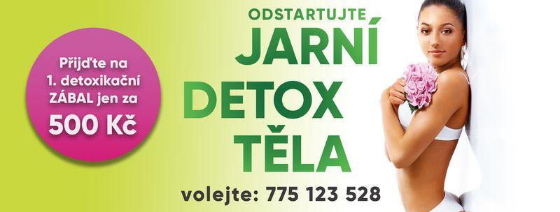 Hubnutí a detoxikace - JARNÍ DETOX - Využijte akční nabídky a připravte své tělo na krásné letní dny - Dárek k MDŽ