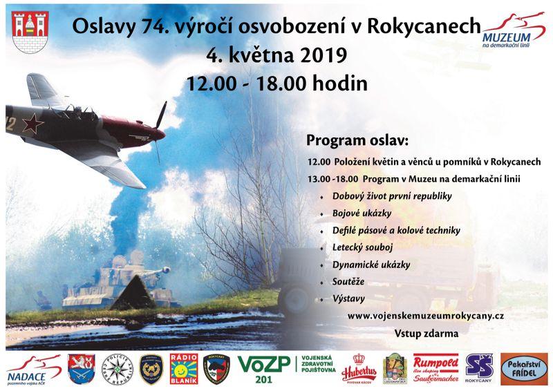 Oslavy osvobození Plzeň 2019 v Rokycanech