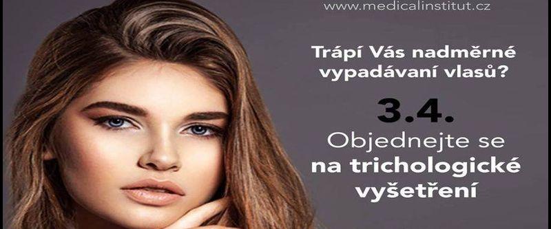Vypadávání vlasů - Akce - v Medical Institutu Plzeň