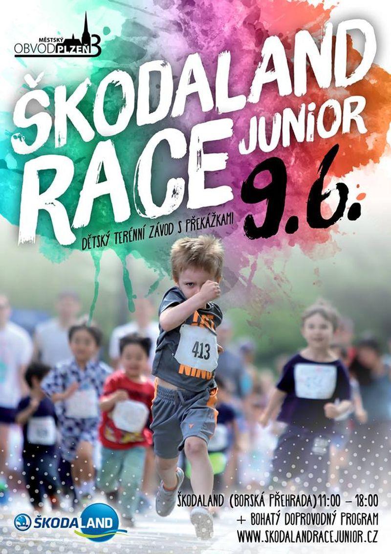 Škodaland Race Junior 2019 - běžecký závod pro děti