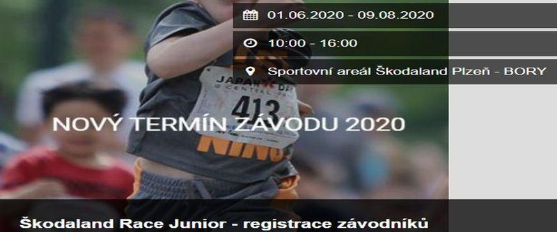 Škodaland Race Junior - registrace závodníků