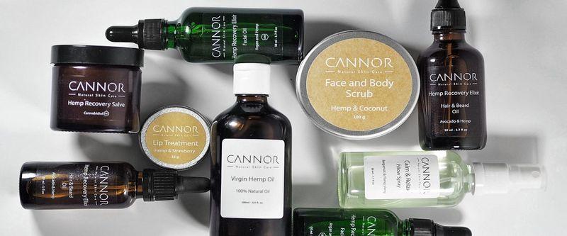 CANNOR kosmetika Cannabidiol léčivá látka budoucnosti