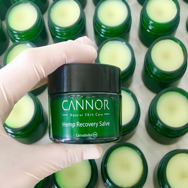 CANNOR kosmetika přírodní léčivá síla z konopí