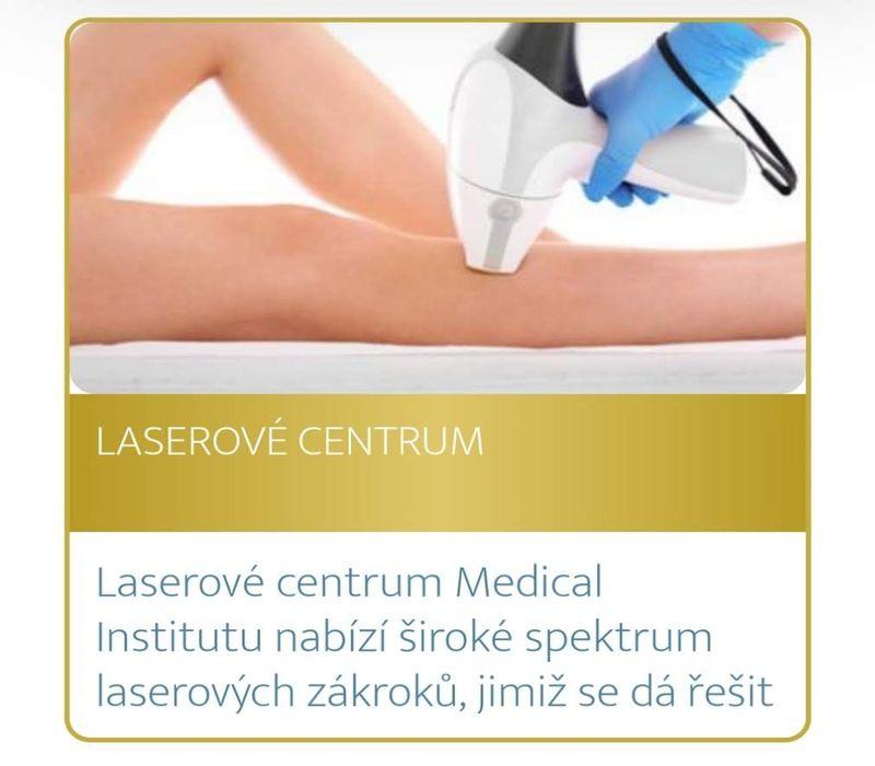 Podzimní akce Medical Institutu Plzeň - depilace