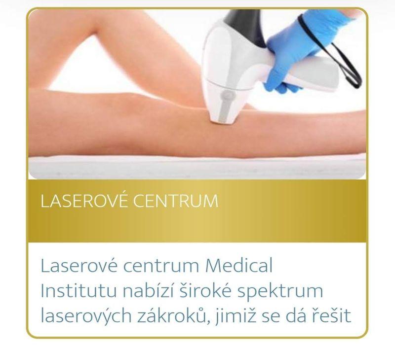 Podzimní akce Medical Institutu Plzeň - laserové centrum