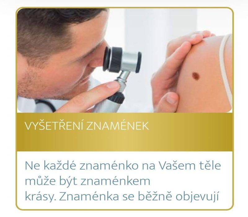 Podzimní akce Medical Institutu Plzeň - vyšetření znamének