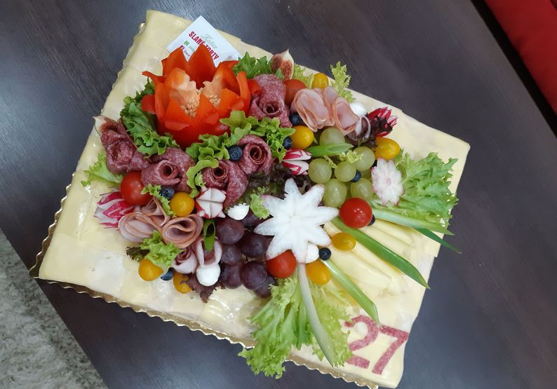 originalne slané torty Košice - darčeky