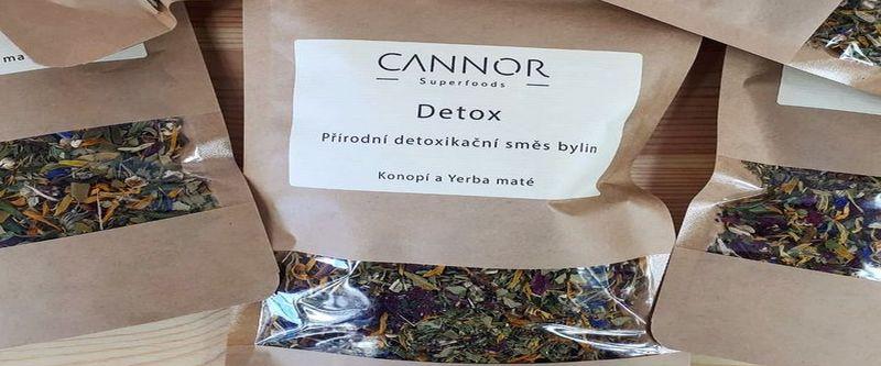 DETOX čaj pro podporu imunity CANNOR