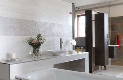 Obklady a dlažby do koupelny - Popek koupelny