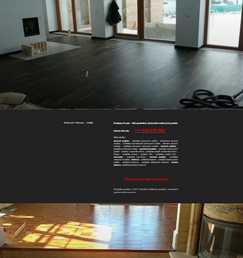Podlahy Pressl-pokládka podlah v Plzni