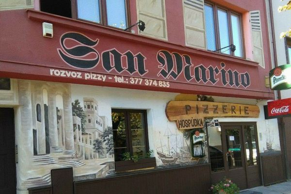 Restaurace San Marino - pizzerie Plzeň Bory